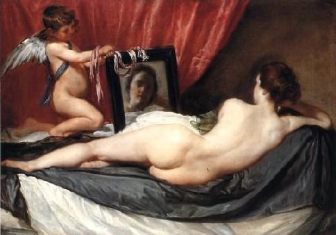 Vénus au miroir, Diego Velasquez