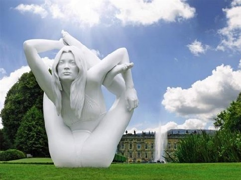 Kate Moss Sphinx