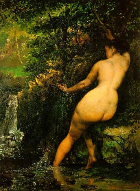 La source, Courbet