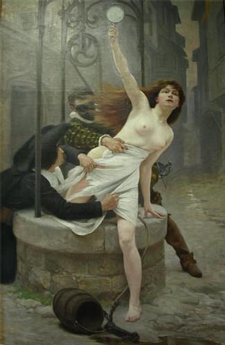 ''La Vérité sortant du puits'', Édouard Debat-Ponsan