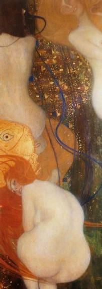 Klimt Gustav, Poissons rouges