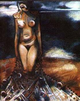 Roger Crusat, Femme au filet