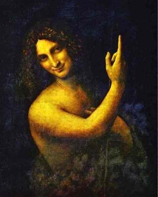 Léonard de Vinci, Saint-Jean-Baptiste