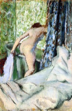 Edgar Degas, Bain matinal