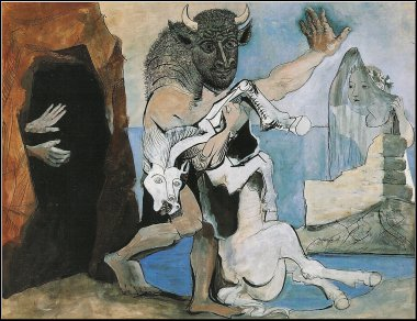 Le Minotaure, Pablo Picasso