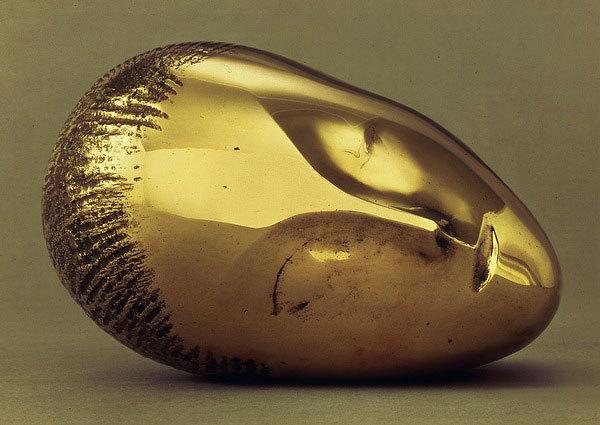 La Muse Endormie, 1910, Constantin Brancusi.