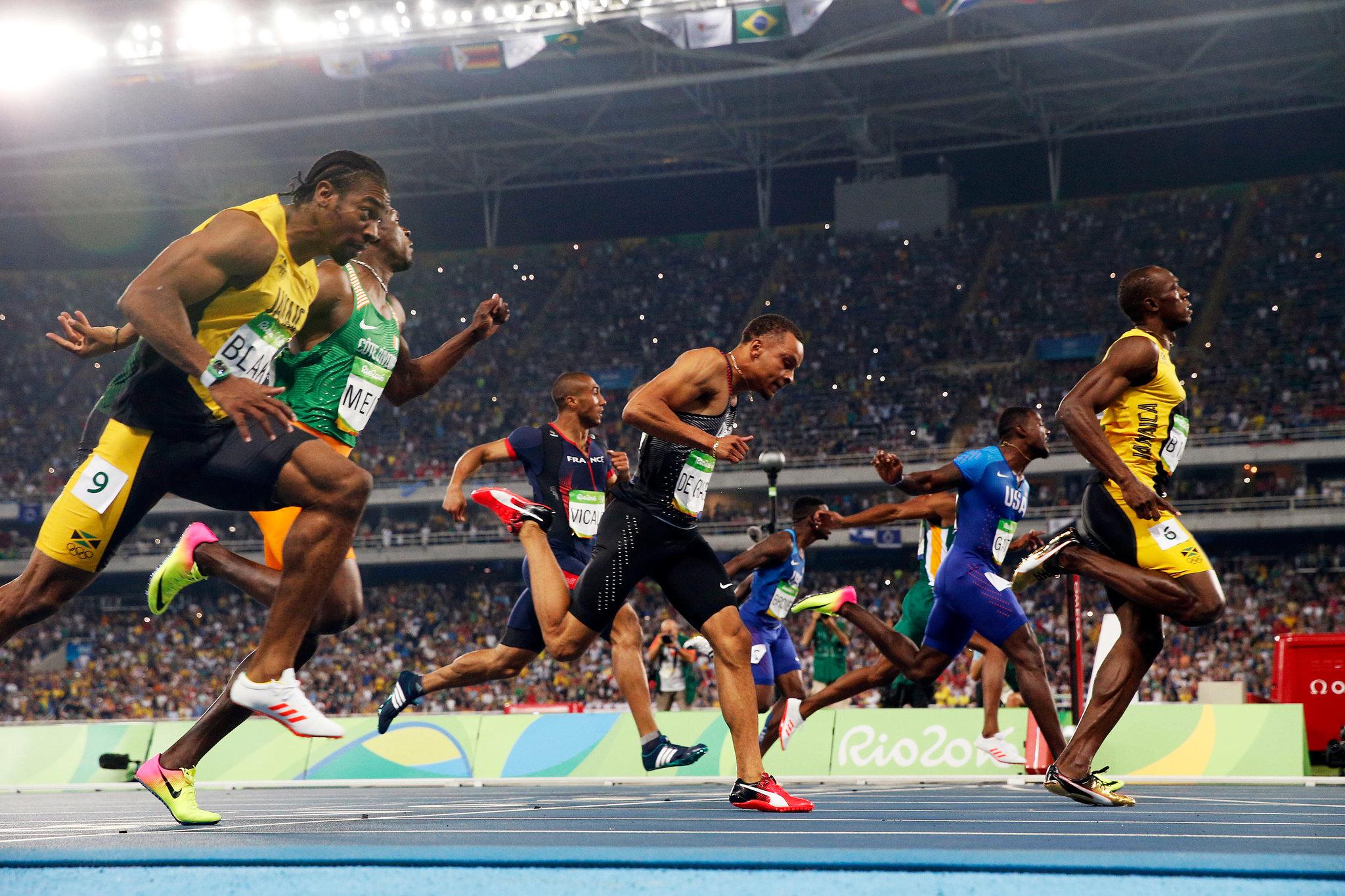 Les choses sont claires… la plus grande star présente à Rio 2016 est restée le roi du 100 mètres