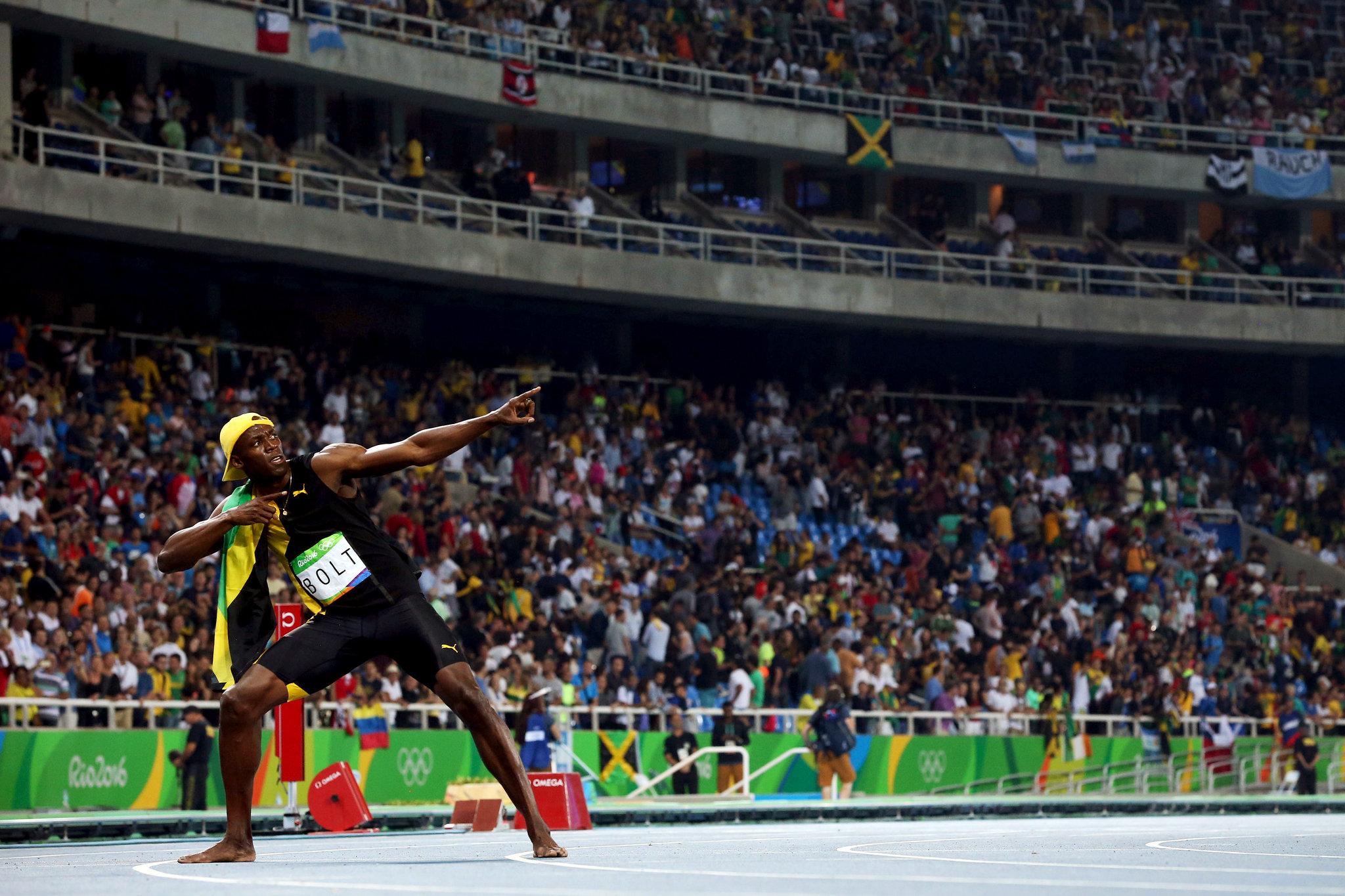 Immortel Usain Bolt