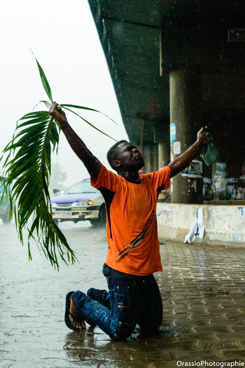 Le jour sublime monte au Gabon
