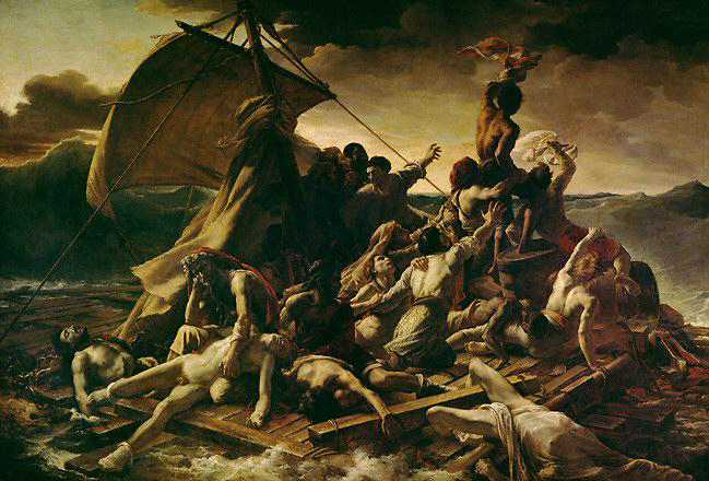 Le Radeau de la méduse (The Raft of the Medusa) - Théodore Géricault – 1819