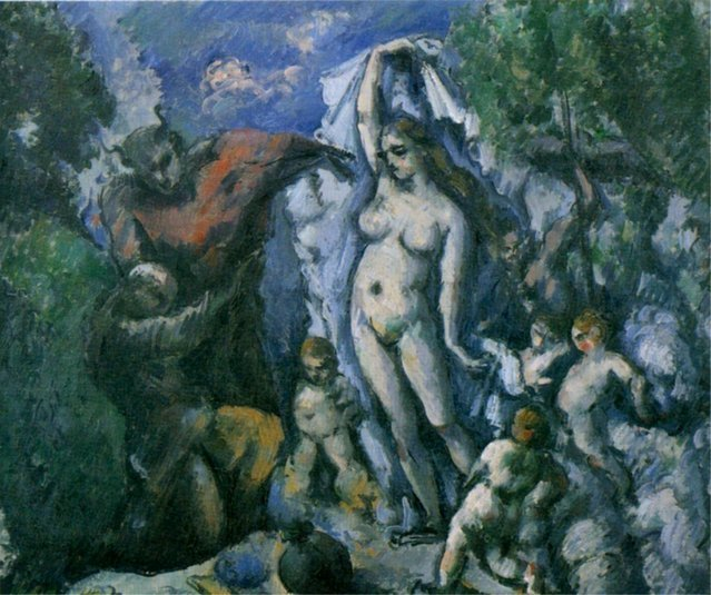 Cezanne - La tentation de Saint Antoine