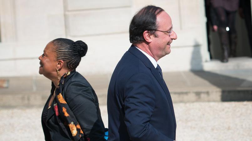 Taubira et Hollande: respect et souvenirs