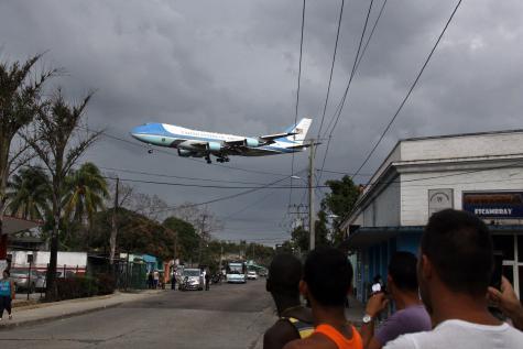 Autant que Lionel Zinsou ce 20 mars 2016, Barack Obama faisait l'histoire en arrivant à La Habana.