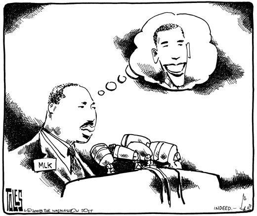 I Have A Dream: Obama